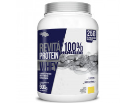 Whey Protein Revitá 100% Concentrate Baunilha 900g