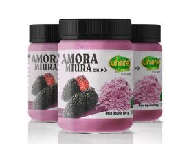 Amora Miura em Pó Vegano 150g - Kit com 3