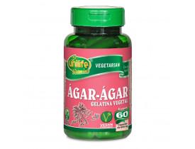Ágar-Ágar Gelatina Vegetal 60 cápsulas de 600mg