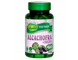 Alcachofra com Berinjela 60 cápsulas de 400mg