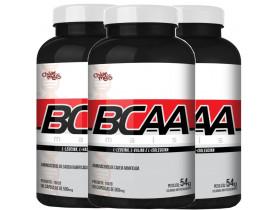 BCAA 90 cápsulas Kit com 3