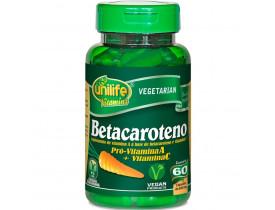 Betacaroteno 60 cápsulas de 500mg