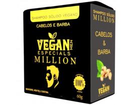 Shampoo Sólido em Barra Cabelo E Barba 100% Natural Vegan Line