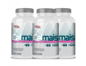 Cálcio Alga Lithothamnium Vitam. D e Magnésio Kit com 3
