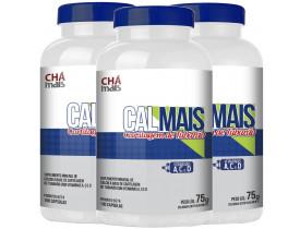 Cartilagem de Tubarão Cálcio e Vitaminas A, C e D Kit com 3