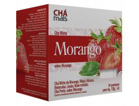 Chá de Morango Cx10 Sachês de 1,5g