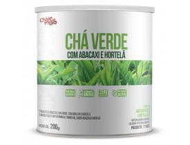 Chá Verde Instantâneo Abacaxi Hortelã ZERO AÇÚCAR 200g