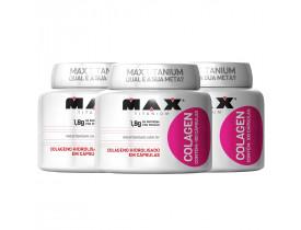 Colagen Colágeno Kit com 3 frascos - 300 cápsulas