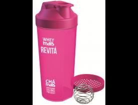 Coqueteleira Shaker Whey Mais Rosa