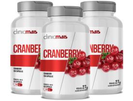 Cranberry 60 cápsulas de 450mg Kit com 3