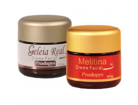 Creme Facial Veneno de Abelha + Creme Geleia Real