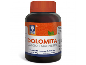Dolomita Cálcio + Magnésio 60 cápsulas de 700mg