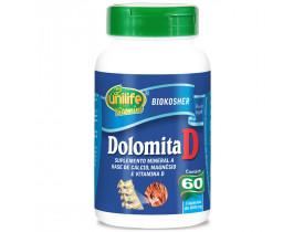 Dolomita D Cálcio Magnésio e Vitamina D 60 cápsulas