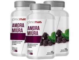 Amora Miura 60 cápsulas de 550mg Kit com 3