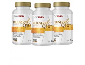 RejuveCel Q10 30 cápsulas de 450mg Kit com 3