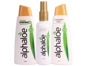 Kit Shampoo + Condicionador + Gel Capilar de Aloe Vera