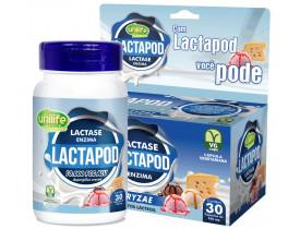 Lactapod Lactase Enzima para Intolerância a Lactose 30 cápsulas de 450mg