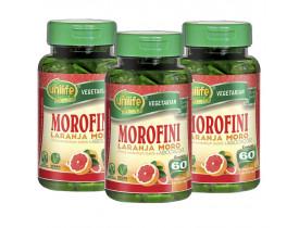 Laranja Moro Morofini 60 cápsulas de 500mg Kit com 3