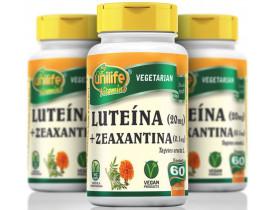 Luteína + Zeaxantina 60 Cápsulas 400mg Kit com 3