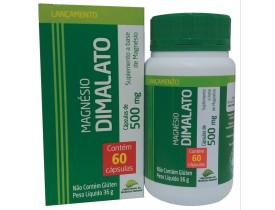 Magnésio Dimalato 60 cápsulas de 500mg