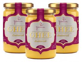Manteiga Clarificada Ghee Kit com 3 Frascos de 318ml