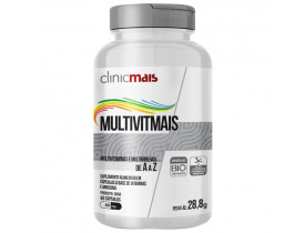 MultiVitMais Multivitaminas de A a Z 60 cápsulas de 480mg