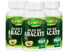 Óleo de Abacate Kit com 3 Frascos