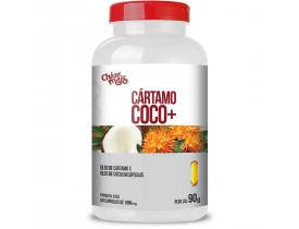 Óleo de Cártamo + Óleo de Coco  60 cápsulas de 1000mg