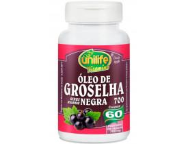 Óleo de Groselha Negra 60 cápsulas 700mg