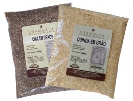 Quinoa Real e Chia em Grãos Kit Especial