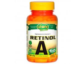 Vitamina A Retinol 60 cápsulas de 500mg