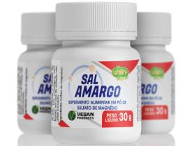 Sal Amargo Vegano 30g Kit com 3