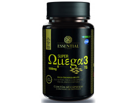 Super Ômega 3 60 cápsulas 1000mg - Essential Nutrition