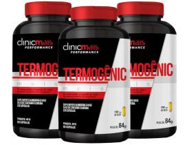 Termogênico Cafeína e Óleo de Cártamo 60 cápsulas de 1000mg Kit com 3