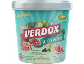 Verdox Suco Verde Instantâneo Sabor Abacaxi e Hortelã 220g