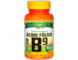 Vitamina B9 Ácido Fólico 60 cápsulas de 500mg