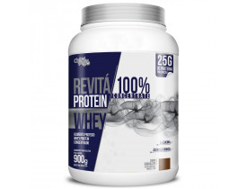 Whey Protein Revitá 100% Concentrate Chocolate 900g