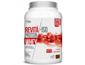 Whey Protein Revitá Isolado Chocolate 900g