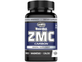 ZMC Carbon Zinco Magnésio Cálcio 120 Cápsulas 950mg